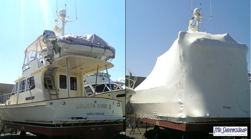 Boat wrapping example 2