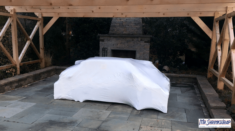 How To Shrink Wrap Your Outdoor Furniture